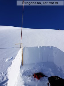 Image Of Snow Profile