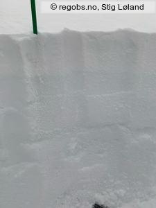 Image Of Snow Profile